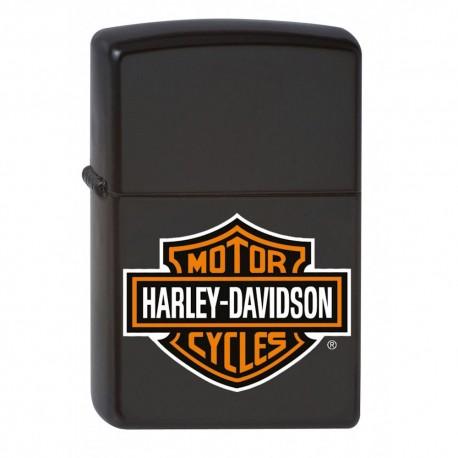 Zippo Harley Davidson noir mat