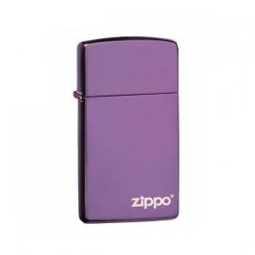 Zippo Slim Abyss avec Logo Zippo