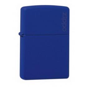 Zippo Bleu Mat avec Logo Zippo