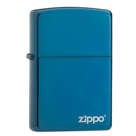 Zippo Saphire avec Logo Zippo