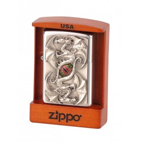 Zippo Twin Dragon Eye