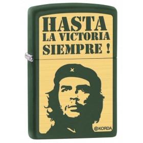 Zippo El Che Guevara Hasta la Victoria Silver