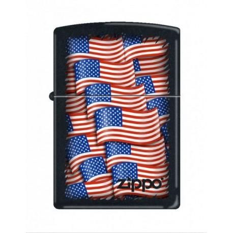Zippo USA Flag
