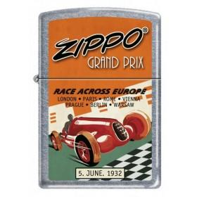 Zippo Affiche Grand Prix de Voitures