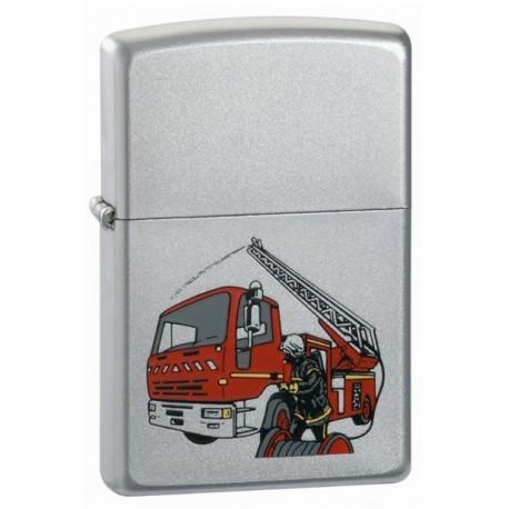 Briquet Zippo Camion de Pompiers