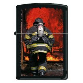 Briquet Zippo Pompier et Feu
