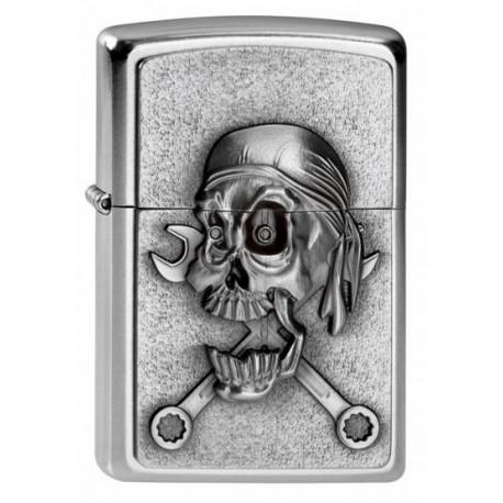 Zippo Mechanic Skull