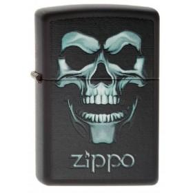 Zippo Skull Shadow