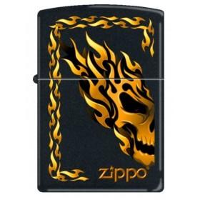 Zippo Flaming Tattoo