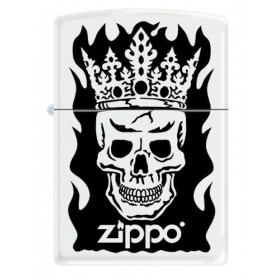 Zippo Skull and Crown