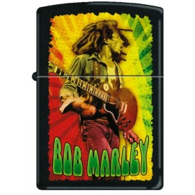 Briquet Zippo Bob Marley Vert