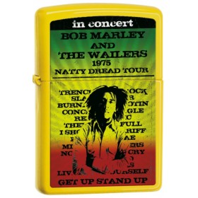 Briquet Zippo Bob Marley Jaune