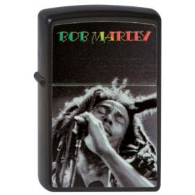 Briquet Zippo noir Bob Marley