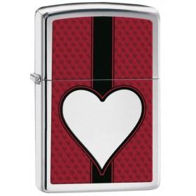 Briquet Zippo Heart Art