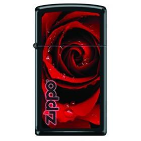 Zippo Slim Roses Rouges