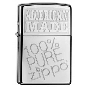Briquet Zippo Made American