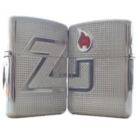 Zippo Armor ZI Hatch Pattern
