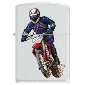 Zippo Dirt Bike Rouge