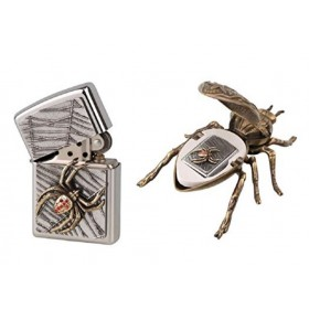 Zippo Spider on the edge