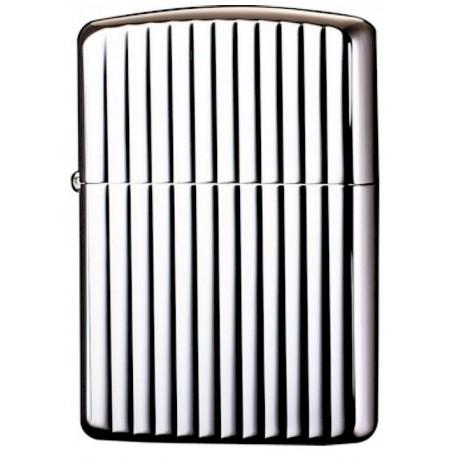 Zippo Armor Silver Case VT Lines